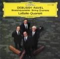 ラサール四重奏団のドビュッシー&ラヴェル/弦楽四重奏曲集 独DGG 3041 LP レコード