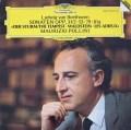 ポリーニのベートーヴェン/ピアノソナタ「テンペスト」、「ワルトシュタイン」&「告別」 独DGG 3042 LP レコード