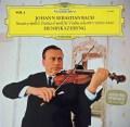 シェリングのバッハ/無伴奏ヴァイオリン・ソナタ&パルティータ第2番(シャコンヌ) 独DGG 3042 LP レコード