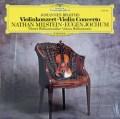 ミルシュタイン&ヨッフムのブラームス/ヴァイオリン協奏曲 独DGG 3042 LP レコード