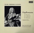リヒターのヘンデル/オルガン協奏曲第9〜12番 独DECCA 3042 LP レコード