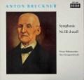 クナッパーツブッシュのブルックナー/交響曲第3番 独DECCA 3042 LP レコード