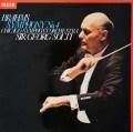 【オリジナル盤】ショルティのブラームス/交響曲第4番 英DECCA 3042 LP レコード