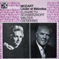 シュヴァルツコップとギーゼキングのモーツァルト/歌曲集 仏EMI 3042 LP レコード