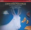 プレヴィンのメンデルスゾーン/劇音楽「真夏の夜の夢」全曲 蘭PHILIPS 3042 LP レコード