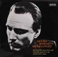 ミケランジェリのベートーヴェン、ガルッピ、スカルラッティ/ソナタ集 独DECCA 3043 LP レコード