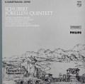 ヘブラー、グリュミオーらのシューベルト/ピアノ五重奏曲「鱒」  蘭PHILIPS 3043 LP レコード