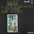 モントゥーのドビュッシー/「聖セバスチャンの殉教」&「映像」 蘭PHILIPS 3043 LP レコード