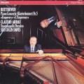 アラウ&デイヴィスのベートーヴェン/ピアノ協奏曲第5番「皇帝」  蘭PHILIPS 3043 LP レコード