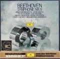 【未開封】 カラヤンのベートーヴェン/交響曲第8&9番「合唱付き」 独DGG 3044 LP レコード