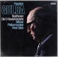【未開封】 グルダのベートーヴェン/ピアノ協奏曲全集 独DECCA 3044 LP レコード