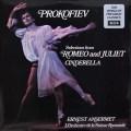 アンセルメのプロコフィエフ/「ロミオとジュリエット」&「シンデレラ」抜粋 英DECCA 3044 LP レコード