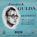 【オリジナル盤】グルダのベートーヴェン/ピアノソナタ第3・19・20番 英DECCA 3044 LP レコード