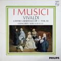 イ・ムジチのヴィヴァルディ/「調和の霊感」より第9〜12番 蘭PHILIPS 3044 LP レコード