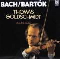 ゴールドシュミットのバッハ&バルトーク/ヴァイオリン作品集 独FSM 3044 LP レコード
