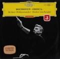 【赤ステレオ】カラヤンのべートーヴェン/交響曲第3番「英雄」 独DGG 3045 LP レコード