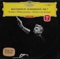【赤ステレオ】カラヤンのベートーヴェン/交響曲第7番 独DGG 3045 LP レコード