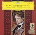フェラス&カラヤンのシベリウス/ヴァイオリン協奏曲、「フィンランディア」  独DGG 3045 LP レコード