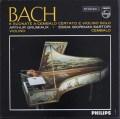 グリュミオー&サルトリのバッハ/ヴァイオリンとチェンバロのためのソナタ集 蘭PHILIPS 3045 LP レコード