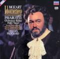 パヴァロッティ&プリッチャードのモーツァルト/「イドメネオ」全曲 独DECCA 3045 LP レコード