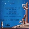 【仏最初期盤】フルトヴェングラーのモーツァルト/交響曲第40番&「アイネ・クライネ・ナハトムジーク」 仏EMI 3045 LP レコード