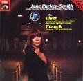 ジェーン・パーカー=スミスのリスト&フランク/オルガン独奏曲集 独EMI 3045 LP レコード