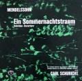 シューリヒトのメンデルスゾーン/「真夏の夜の夢」ほか 独MMS 3045 LP レコード