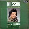 【オリジナル盤】 ニルソンのヴェルディ/オペラ・アリア集 英DECCA 3046 LP レコード