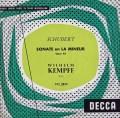 ケンプのシューベルト/ピアノソナタ第16番 仏DECCA 3046 LP レコード