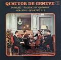 ジュネーヴ四重奏団のドヴォルザーク/「アメリカ四重奏曲」ほか 仏Concert Hall 3046 LP レコード