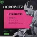 ホロヴィッツのクレメンティ/ピアノソナタ集 仏RCA 3046 LP レコード