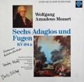 【直筆サイン入り】 ラウテンバッハー、コッホ&オスタータークのモーツァルト/6つのアダージョとフーガ 独SAPHIR 3046 LP レコード