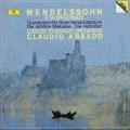 アバドのメンデルスゾーン/交響曲全集 独DGG 3046 LP レコード