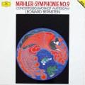 バーンスタインのマーラー/交響曲第9番 独DGG 3046 LP レコード