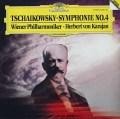 カラヤンのチャイコフスキー/交響曲第4番 独DGG 3046 LP レコード