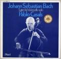 カザルスのバッハ/無伴奏チェロ組曲 独EMI 3047 LP レコード