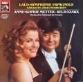 ムター&小澤のラロ/スペイン交響曲ほか   独EMI 3047 LP レコード
