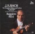 リッチのバッハ/無伴奏ヴァイオリンソナタとパルティータ全曲 蘭Unicorn-Kanchana 3047 LP レコード