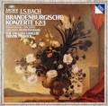 ピノックのバッハ/ブランデンブルク協奏曲第1〜3番 独ARCHIV 3048 LP レコード