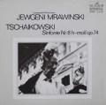 ムラヴィンスキーのチャイコフスキー/交響曲第6番「悲愴」 独ETERNA 3048 LP レコード