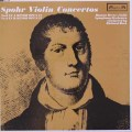ハイマン・ブレスのシュポア/ヴァイオリン協奏曲第8番&第9番 英L'OISEAU-lYRE 3048 LP レコード