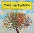 クレーメル&アバドのヴィヴァルディ/ヴァイオリン協奏曲集「四季」   独DGG 3048 LP レコード