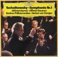 カラヤンのチャイコフスキー/交響曲第1番「冬の日の幻想」 独DGG 3048 LP レコード