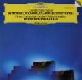 カラヤンのサン=サーンス/交響曲第3番「オルガン付き」 独DGG 3048 LP レコード