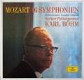 ベームのモーツァルト/交響曲全集 独DGG 3048 LP レコード