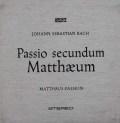 【オリジナル盤】リヒターのバッハ/マタイ受難曲   独ARCHIV 3048 LP レコード