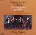 メロス四重奏団のモーツァルト/弦楽四重奏曲「プロシア王セット」&第20番 独Intercord 3101 LP レコード