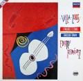 フェルナンデスのヴィラ=ロボス/5つの前奏曲ほか 独DECCA 3101 LP レコード
