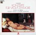 カラブレーゼ&シモーネのヴィヴァルディ/ヴィオラ・ダ・モーレ協奏曲集 独EMI 3101 LP レコード