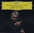 カラヤンのブルックナー/交響曲第9番 独DGG 3101 LP レコード